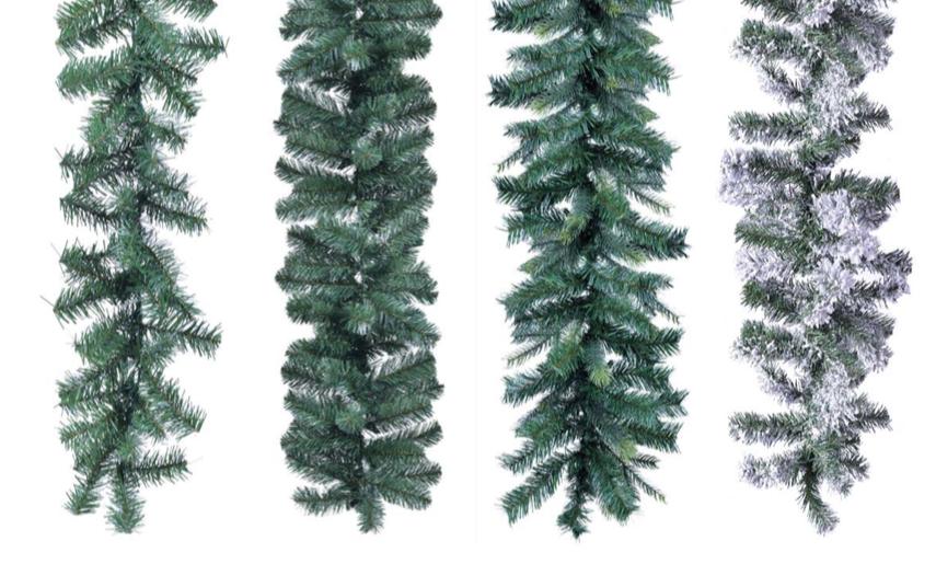 karácsonyi dekoráció girland
