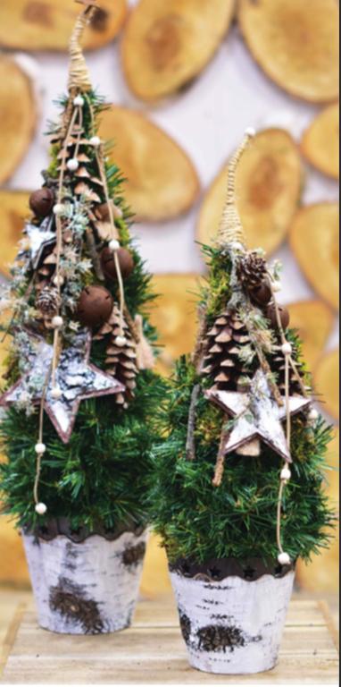 Karácsonyi dekoráció Grincsfa