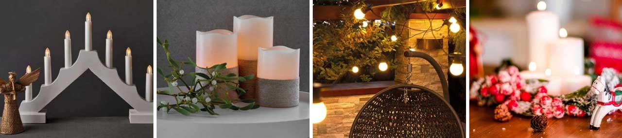 Hagyományos karácsonyi világítás