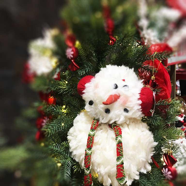 Hóemberes téli dekoráció