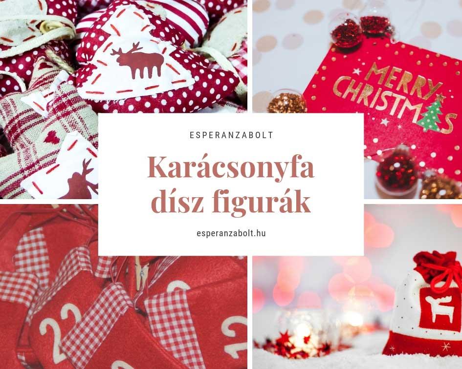 textil karácsonyfadíszek