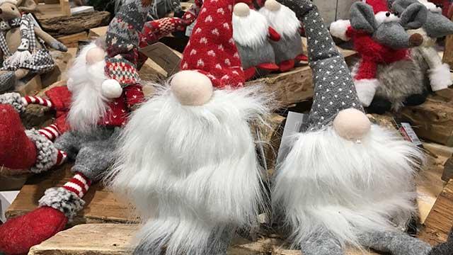 Karácsonyi manó dekoráció