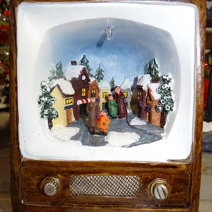 Hagyományos karácsonyi dioráma