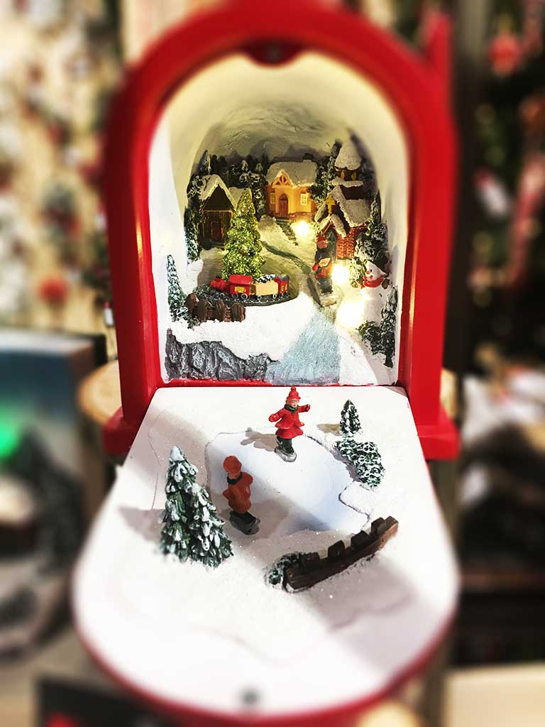 Karácsonyi dioráma