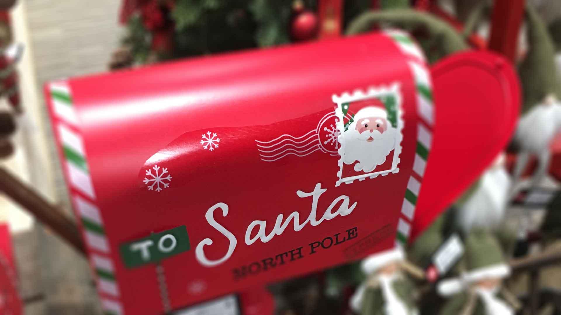Karácsonyi trend postaláda