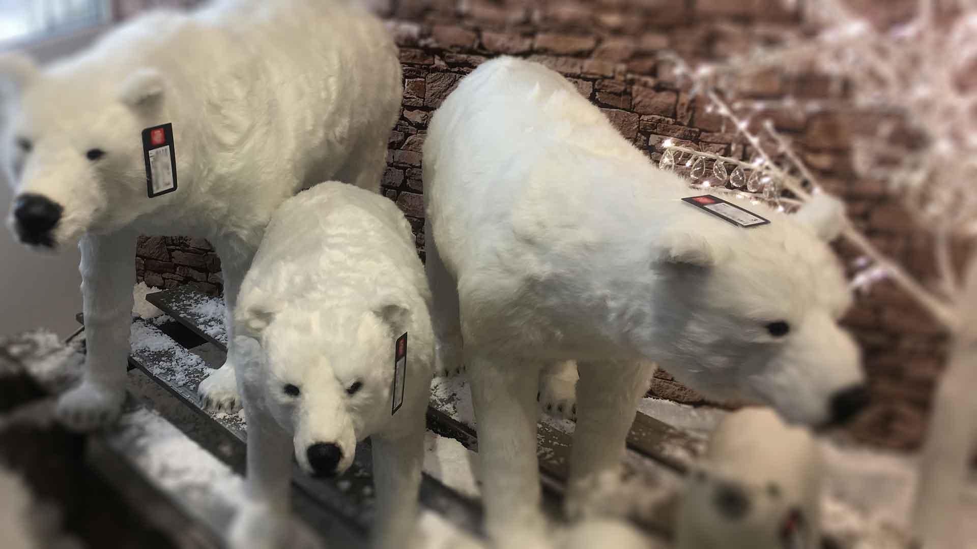Karácsonyi trend 2019 jegesmedve
