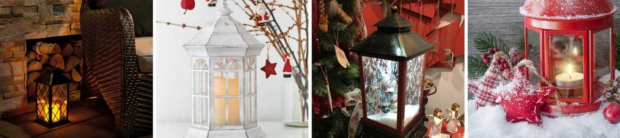 Karácsonyi LED lámpások és mécsesek