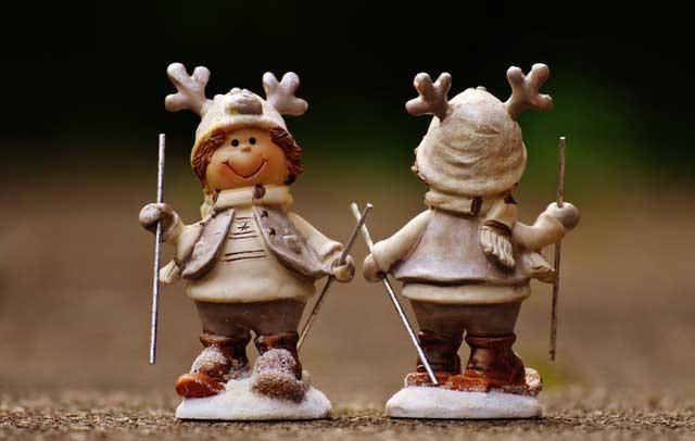 Karácsonyi dekorációs figura