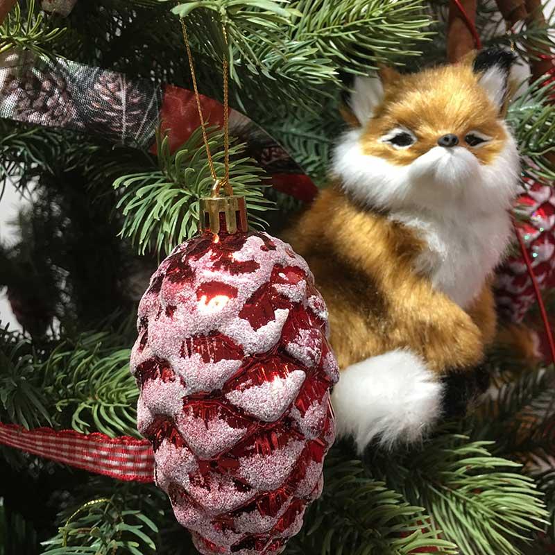 Figurás karácsonyi dísz