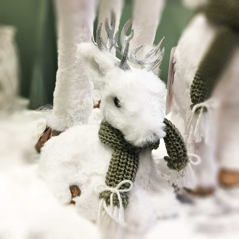 karácsonyi figura - szarvas