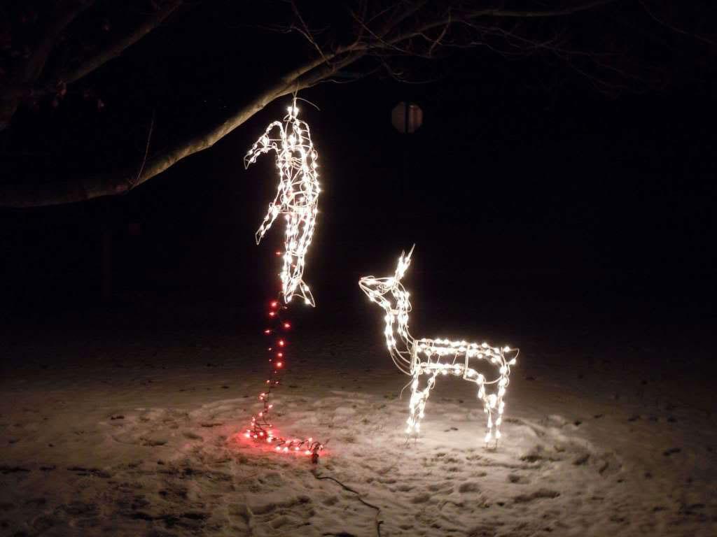 karácsonyi vicces világítás