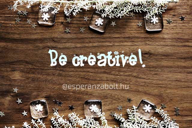 Karácsonyi dekoráció - légy kreatív
