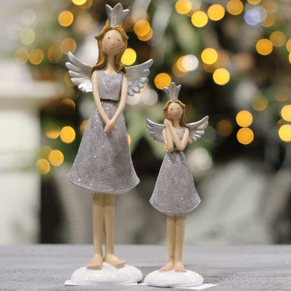 Karácsonyi figura -  gyerek hintalovon